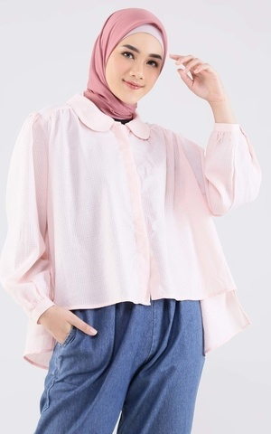 Luna Cropped Shirt
