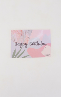 Ticket HIJUP Greeting Card