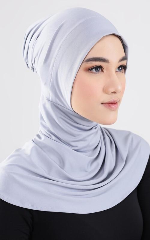 Scarf Cap - Meira Ciput Ninja - Grey