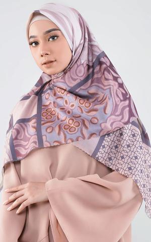 Kelana Series Set Hijab-Masker Kode Senja