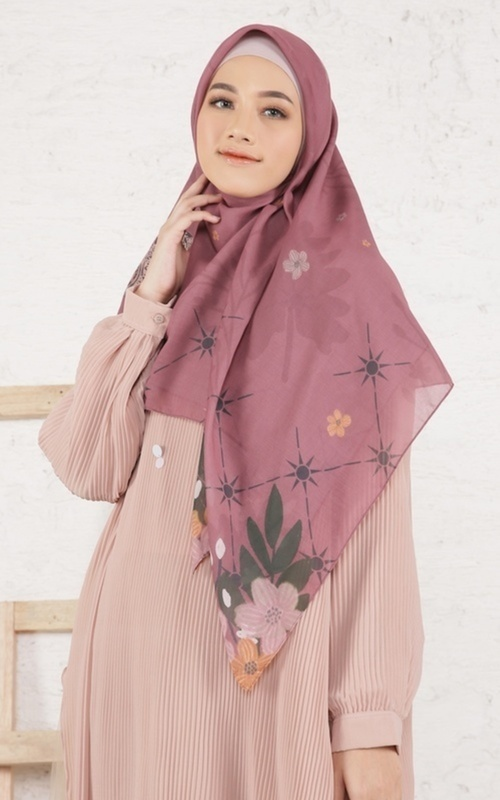 Hijab Motif -  Alur X Hijup Dolmabahce - Multicolor