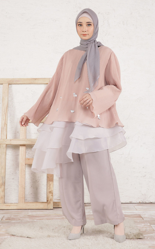 Blus -  Luana Top for HIJUP -  Mocca