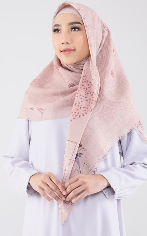 Printed Scarf -  Houri Scarf for HIJUP - Multicolor