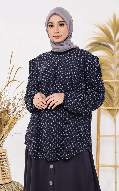 Blus - Nadia Blouse.20 - Flower
