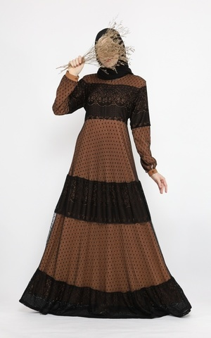 Giselle Dress Mocha