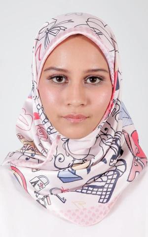 Roujak - Le Hijab Dusty Pink