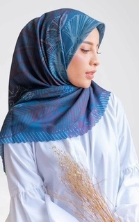 Printed Scarf Roujak - Le Hijab Jardin Saint Lazard