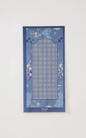Anna Travel Praying Mat in Indigo