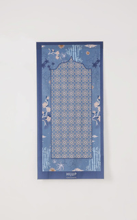 Sajadah Anna Travel Praying Mat in Indigo