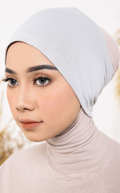Ninna Inner Bandana - Light Grey