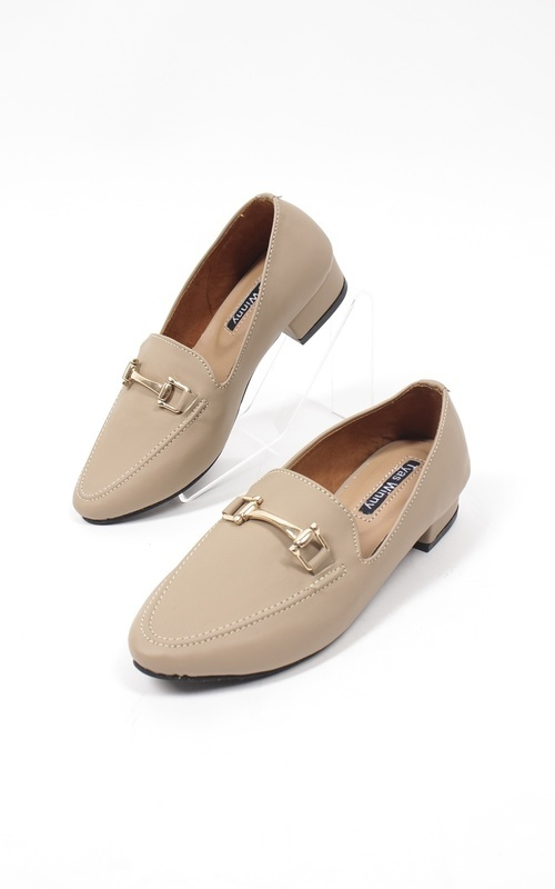 Shoes - zara flat shoes  - coklat