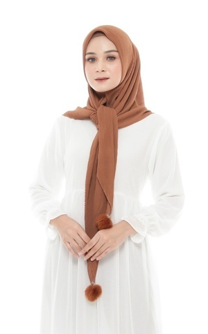 HIJAB SENAYA - BROWN SUGAR