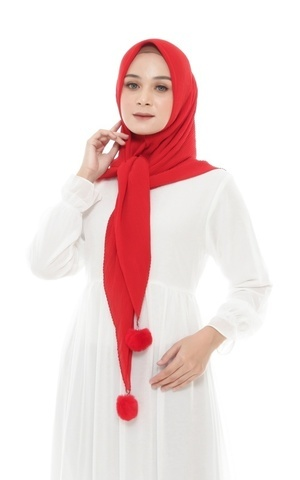 HIJAB SENAYA - RED CHILLI