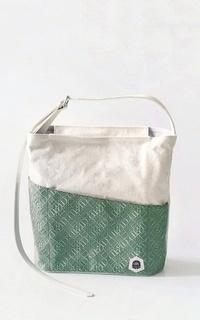 Bag Olive Green Dinnaro Strap Tote Bag