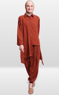 Jumpsuit Manama Daliya Shirt and Pant Set