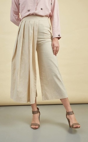 Minerva Jules Pants Cream