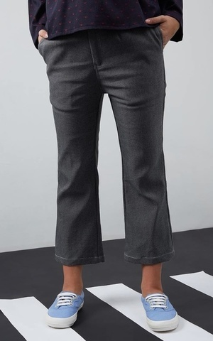 Leilani Denim Cullotes Gray