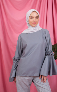 Blouse Sherly Top Grey