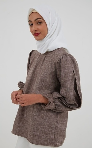 Sheny Top Brown