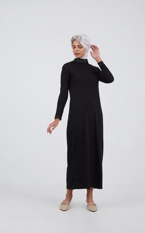 Surinala Manset Dress Black