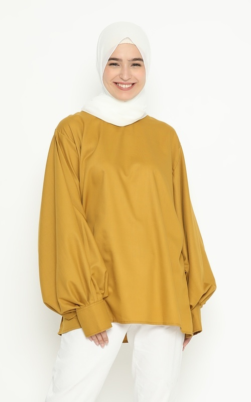 Tunik - Citrani Tunic - Mustard