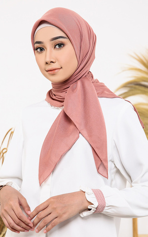 Superfine Plain Voal Scarf (Nude Series)