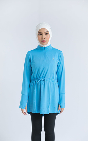 Amani Sports Top - Sky Blue