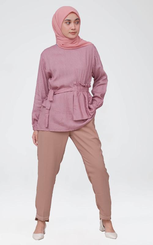 Blouse - Lazera Blouse - Pink