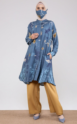 Naomi Tunic in Denim Blue