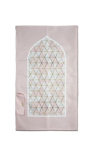 SUJUD PORTABLE SAJADAH || PINK GEO REGULAR