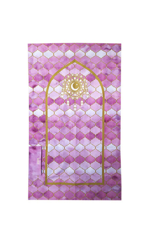 SUJUD PORTABLE SAJADAH || PURPLE MAROCCO REGULAR