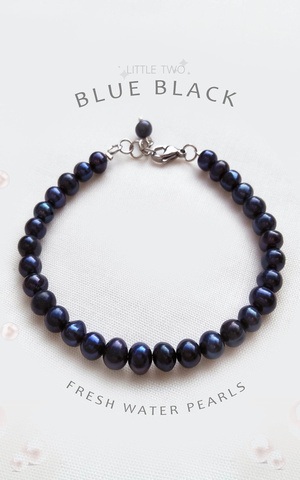 Black -  Fresh Water Pearl