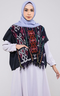Blus Ikatopa 2 Side Outer Top