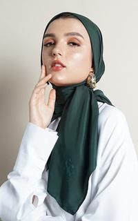 Hijab Polos Ultrasatin Scarf with Signature Logo