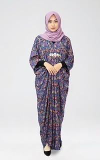 Kaftan Navy Abstract