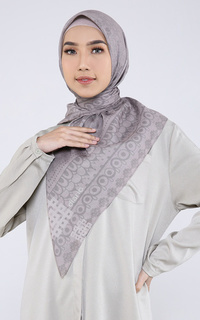Printed Scarf Naira Cream Scarf Voal For HIJUP