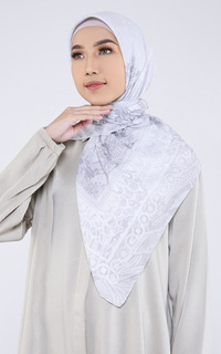 Naira White Scarf Voal For HIJUP