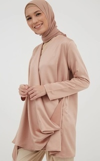 Tunic Phyrra Drappery Tunic Brown