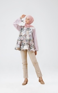 LEMA BLOUSE DUSTY