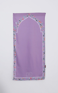 Sajadah Tiara 031 Alia Varisha Travel Purple