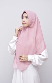Bella Instan Square Hijab Syari Flamingo