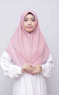 Khimar Layer Instan Hijab Syari Flamingo