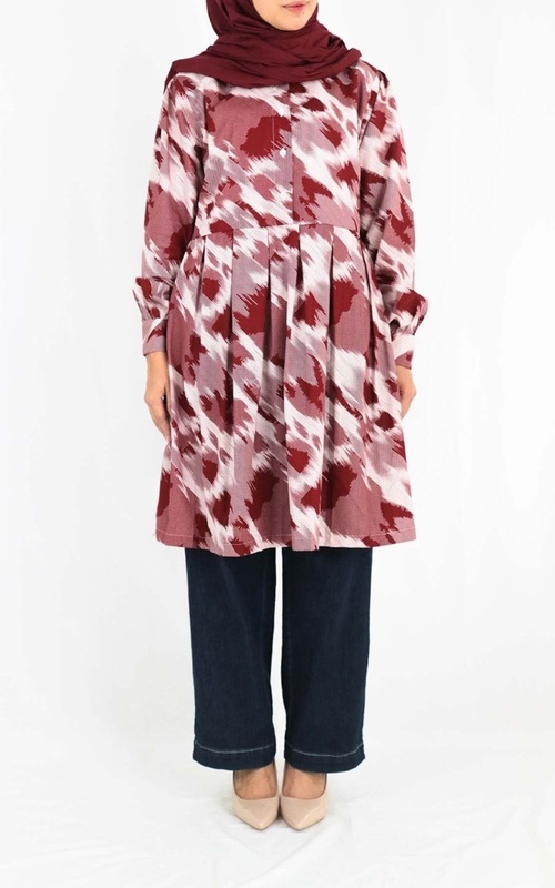 Tunic - Anetta Red - Red