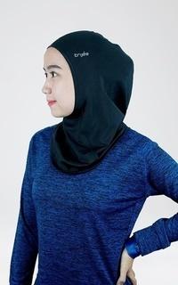 Instant Hijab Trijee Annisa Hijab Sport - Black
