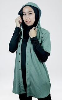 Sport Trijee Outer With Hoodie Campbell - Green