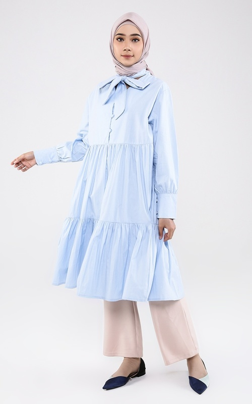 Tunic - Eloise Tunic Sky Blue - Sky Blue
