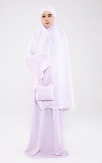 Praying Set Mukena Silky Hanna Lilac