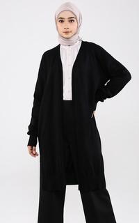 Cardigan Black Long Cardigan