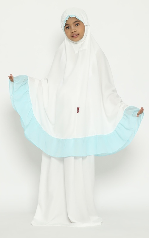 Praying Set - Tiara 463 Child Nabeela Lafiza Child Blue - Blue