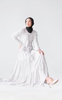 Gamis BINAR DRESS WHITE